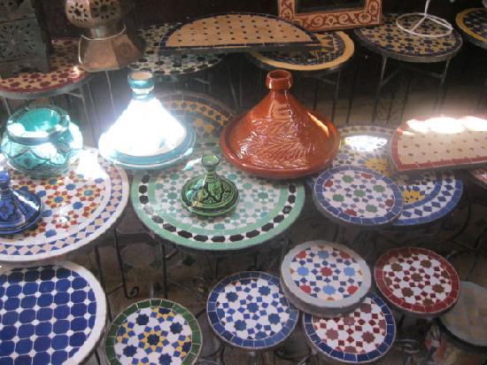 Riad Jean Claude: de belles couleurs dans la medina