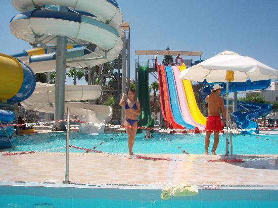Anastasia Beach Hotel: Water park