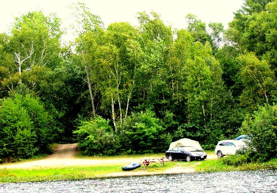 Grundy Lake Provincial Park: Camping site