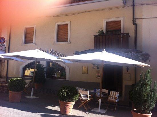 Hotel San Rocco: l'entrata