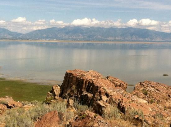 Antelope Island State Park: Great views from Antelope Island