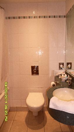 Leaf Hotel Dover: Bathroom Ramada Dover