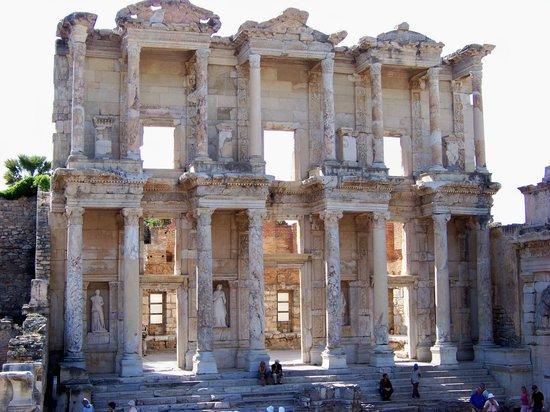 ซีลกัค , ตุรกี: The library at Ephesus