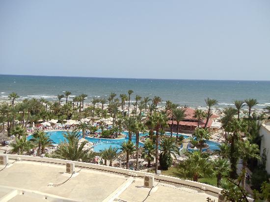 Riadh Palms Hotel: La vue de notre chambre