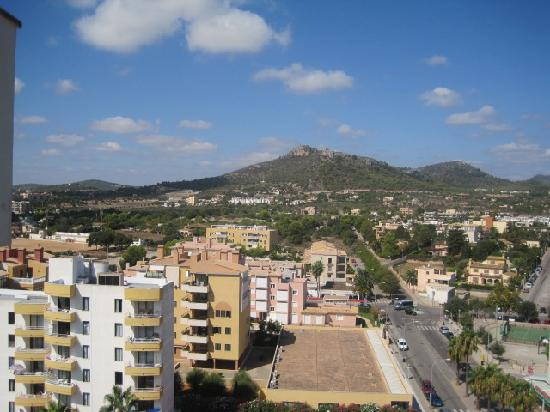 Protur Atalaya Apartments: view of Callor Millor from the top floor