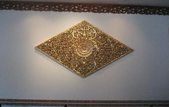 President Thai Restaurant: Part of the decor
