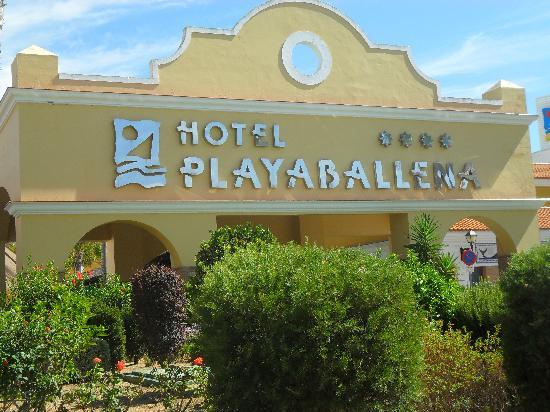 Playaballena Spa Hotel: fachada exterior