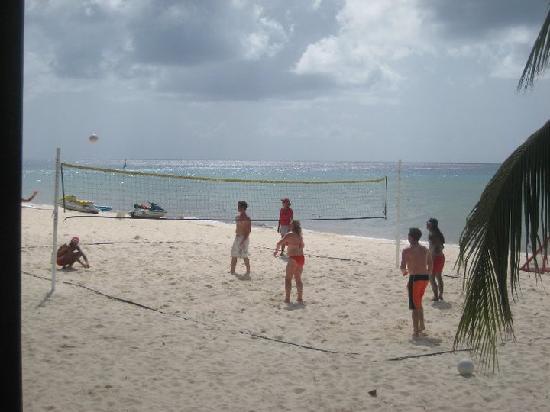 Melia Cozumel Golf - All Inclusive: Beach volleyball