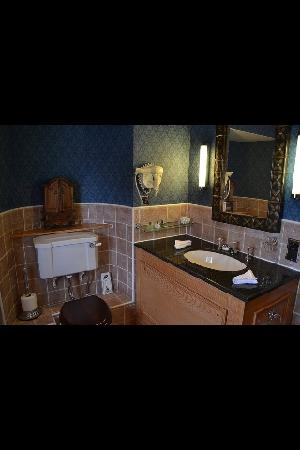 Dalhousie Castle: bathroom