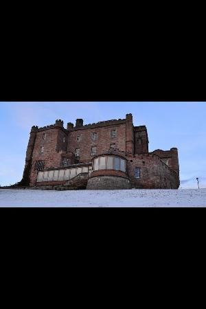 Dalhousie Castle: rear view
