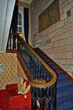 Dalhousie Castle: stairs