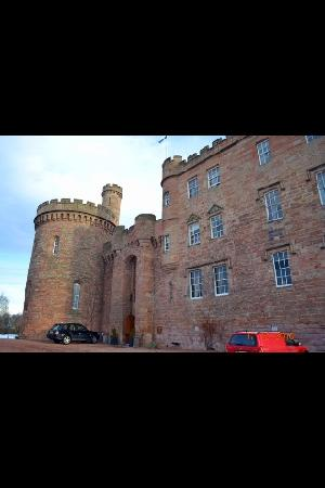 Dalhousie Castle: outside again