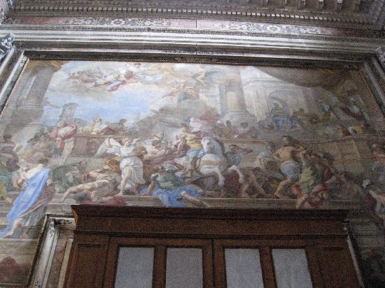 Gesu Nuovo Church: Expulsion of Heliodorus by Solimena