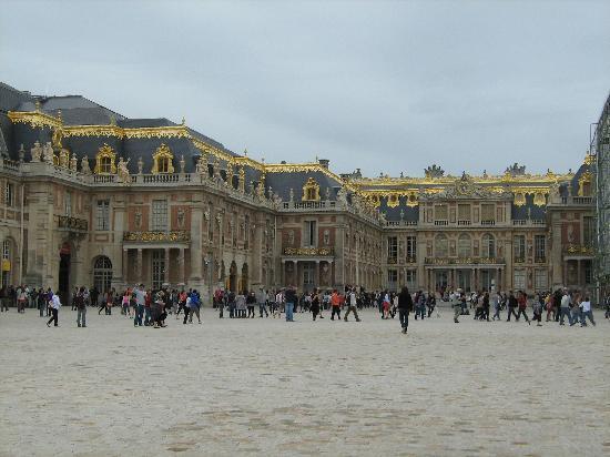 พระราชวังแวไซล์ส: Picture of the Chateau