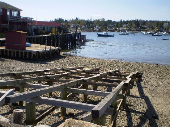 Seafood Ketch: Bass Harbor View
