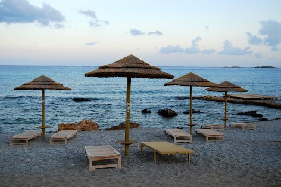 AquaGrand Exclusive Deluxe Resort: hotel's beach