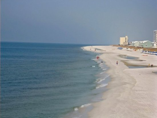 Pensacola Beach, FL: gulf shore - beautiful