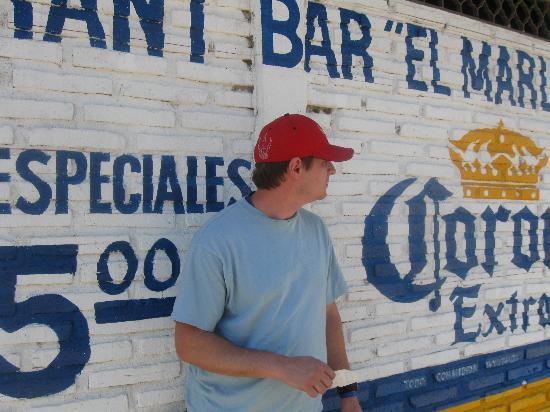 Decameron Los Cocos: Main street Guyabitos