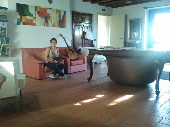 "Agriturismo Nico Bresaola: the ""reception"""