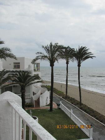 Macdonald Leila Playa Club: View of beach outside unit