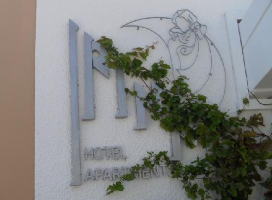 Hotel Irinna: insegna