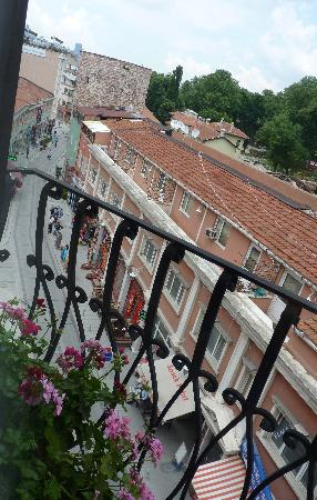 Sirkeci Mansion : View from balcony