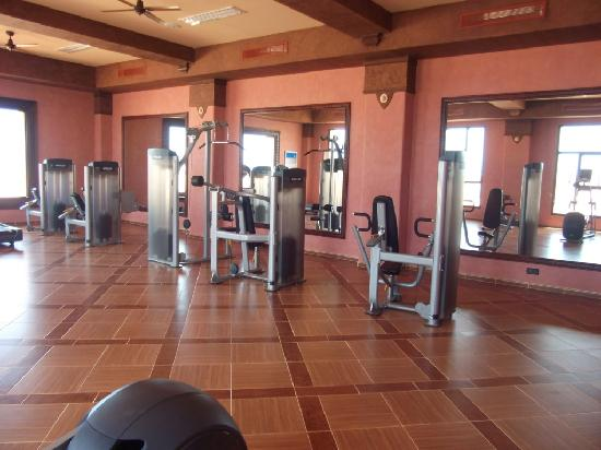 Hotel Riu Touareg: Riu Touareg, gym in spa.