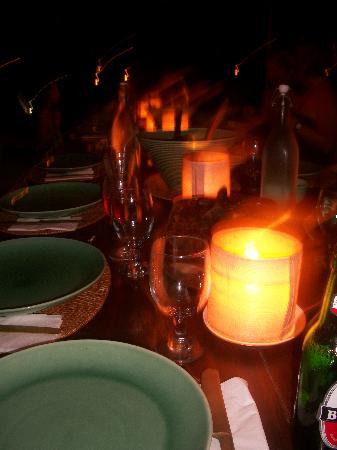 Mu Bali: Gorgeous communal dinners!