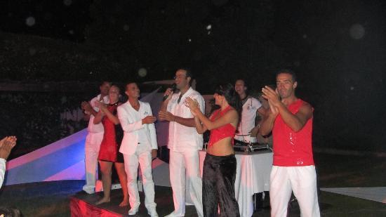 Club Med Marrakech La Palmeraie: Des crazy sign très festifs