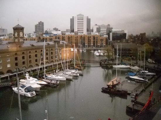 The Tower: View of St Katherine's Dock