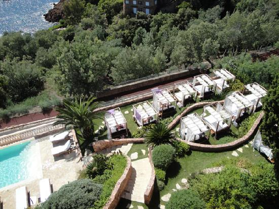 Hôtel Tiara Yaktsa Côte d'Azur: Le jardin