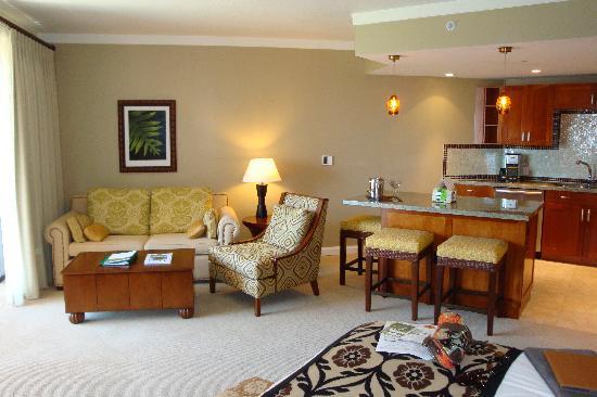 Honua Kai Resort & Spa: Interior of Unit #615