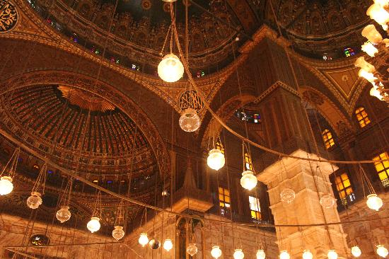 สุเหร่าโมฮัมเหม็ดอาลี: The domed ceiling
