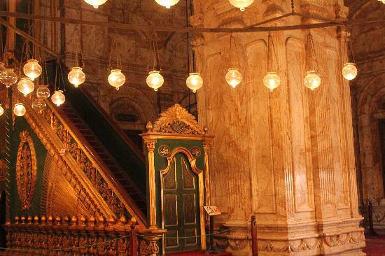 สุเหร่าโมฮัมเหม็ดอาลี: The worship area