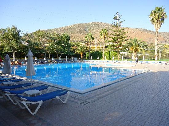 King Minos Palace Hotel: Pool Area