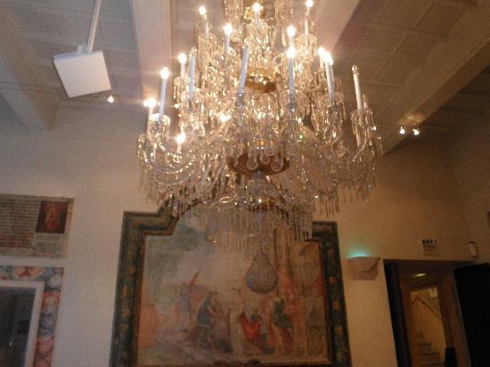Aboca Museum: particolare di una sala