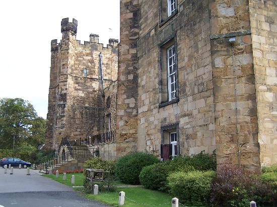 Lumley Castle Hotel: the front of the castle