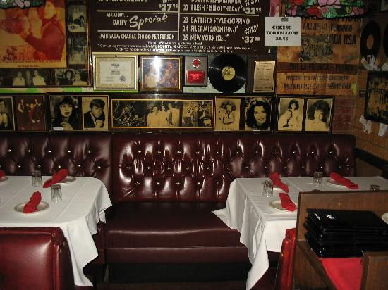 Battista's Hole in the Wall: The Rat Pack's Booth
