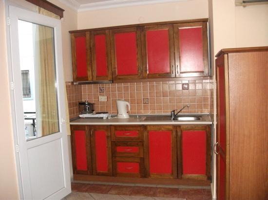 Arya Aparthotel: kitchen