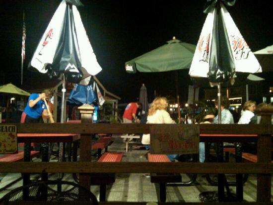 St. Michaels Crab & Steak House: outside seating area