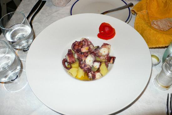 Trattoria da Sandro: Octopus salad