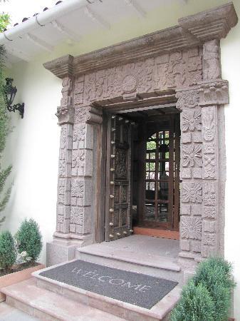Aranwa Sacred Valley Hotel & Wellness: Entrance