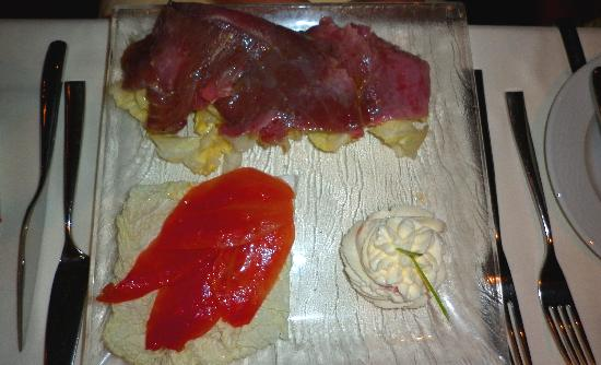 Migomis Piano Restaurant: tuna