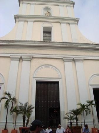 Old San Juan: church