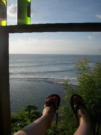 Suara Ombak Cottages: The view!