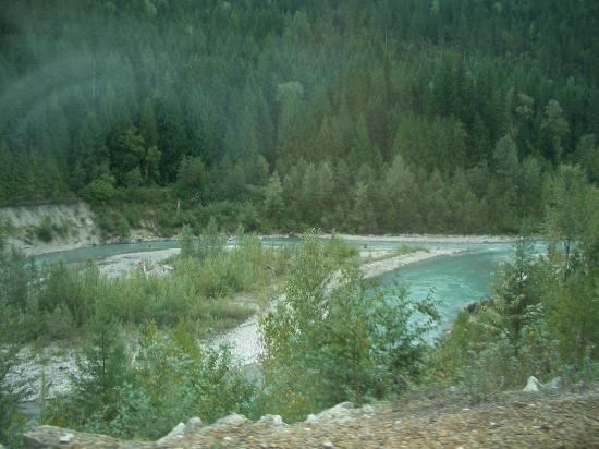 The Rocky Mountaineer: TREES AND WATER = THATS ALL