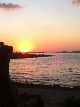 Ushuaia Ibiza Beach Hotel: @ Kumaras watching the sunset.