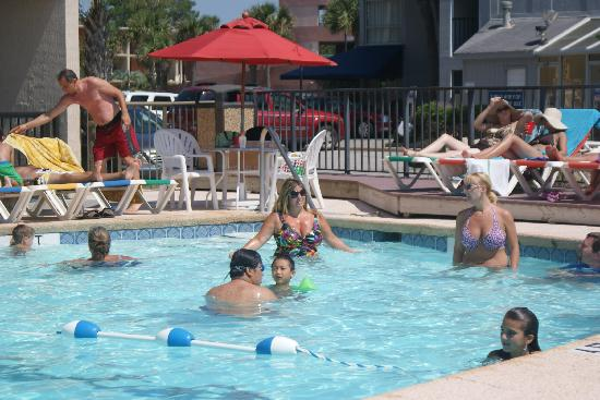 Compass Cove Oceanfront Resort: oone of many pools