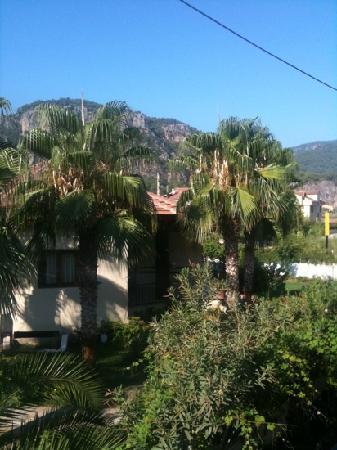 Villa Dolunay Apart Hotel: view from back balcony