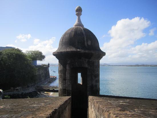 Site historique national de San Juan : One of the watch towers